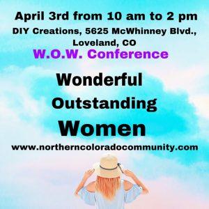 WOW – Wonderful Outstanding Women's Conference @ W.O.W. Conference (Wonderful, Outstanding, Women)